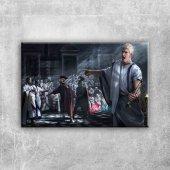Total War Rome Octavian Oyunu Dijital Fantastik Kanvas Tablo