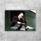 Mustafa Kemal Atatürk 4 Kanvas Tablo