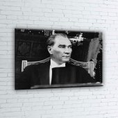 Mustafa Kemal Atatürk-21 Kanvas Tablo-2