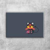 Pokemon Karakterleri 14 Kanvas Tablo