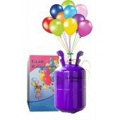7 Litre Helyum Gazı Ses Değiştirici Uçan Balon...