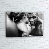 Mike Tyson Maça Hazırlık Boks Spor Kanvas Tablo-2