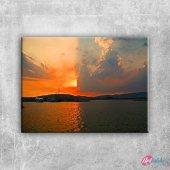 Malakal Adası Doğa Manzaraları Kanvas Tablo Art Tablo