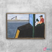 Gelincik 7 Yağlı Boya Sanat Kanvas Tablo Art Tablo...