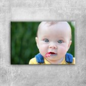 Sarışın Mavi Gözlü Bebek & Çocuk Dünyası Kanvas...
