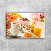Sağlıklı Kahvaltı Lezzetler Kanvas Tablo Art Tablo...