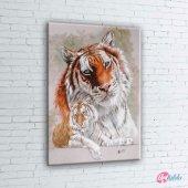 Kaplan, Sumatra Kaplanı, Vahşi Hayvanlar Dekoratif Kanvas Tablo-2