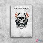 Suicide Squad Pop Art Tattoo Poster Kanvas Tablo E...