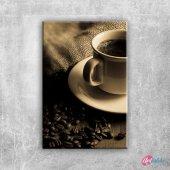 Kahve Cekirdekleri Ve Bir Fincan Kahve 5 Lezzetler...