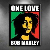 Bob Marley One Love Ünlü Yüzler Dekoratif...