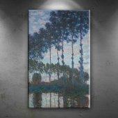 Claude Monet Peupliers Yağlı Boya Sanat Dekoratif ...