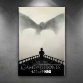 Game Of Thrones Popüler Kültür Dekoratif Kanvas Ta...