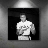 Muhammed Ali Boks 6 Siyah Beyaz Dekoratif...