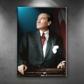 Mustafa Kemal Atatürk Portre Dekoratif Kanvas Tablo
