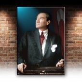 Mustafa Kemal Atatürk Portre Dekoratif Kanvas Tablo-2