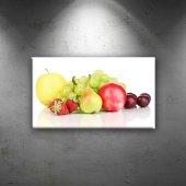 Fruits Lezzetler Dekoratif Canvas Tablo