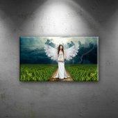 Melek İnsan Dijital Ve Fantastik Dekoratif Canvas ...