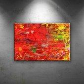Abstract 14 Sanat Dekoratif Canvas Tablo
