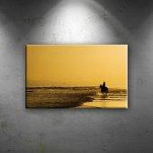Sahil Doğa Manzaraları Dekoratif Canvas Tablo