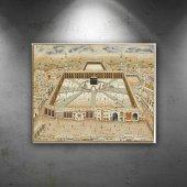 Kabe Minyatür Çizimi Dini & İnanç Dekoratif Canvas...