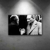 Mustafa Kemal Atatürk Köylü Dinliyor Dekoratif...