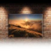 Sis, Güneş ve Doğa Manzarası Dekoratif Canvas Tablo-2