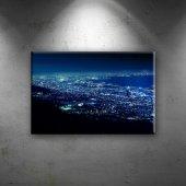 Gece Aydınlatma Dünyaca Ünlü Şehirler Dekoratif Ka...