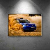 Subaru Impreza STI Otomobil Araçlar Dekoratif Kanvas Tablo
