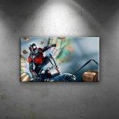 Ant Man Sinema Dekoratif Kanvas Tablo