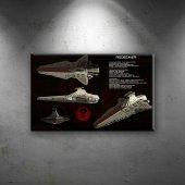 Redeemer Gemisi Star Wars Dekoratif Kanvas Tablo