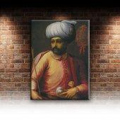Yavuz Sultan Selim Osmanlı Tarihi Kanvas Tablo-2