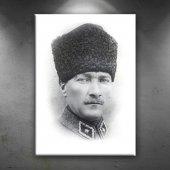 Mustafa Kemal Atatürk Portre 2 Kanvas Tablo