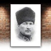 Mustafa Kemal Atatürk Portre-2 Kanvas Tablo-2
