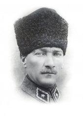 Mustafa Kemal Atatürk Portre-2 Kanvas Tablo-3