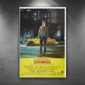 Retro Eski Poster Taxi Driver Robert De Niro...