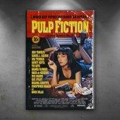 Retro Eski Poster Pulp Fuction Eski Film Kanvas...