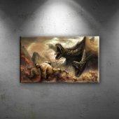 Mitolojik Savaş Bebek & Çocuk Dünyası Kanvas...