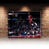 Michael Jordan Chicago Bulls-5 Kanvas Tablo-2