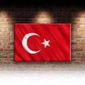 Türk Bayrağı Ay Yıldız Kırmızı-2 Kanvas Tablo-2