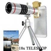 Samsung Galaxy A8 18X Teleskop Telefon Kamera Lensi