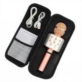 Bluetooth Karaoke Mikrofon Speaker Mp3 Çalar...