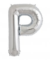 Harf Balon P Gümüş Folyo 100 cm