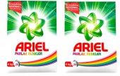 Ariel Toz Deterjan Parlak Renkler 4 Kg*2 Adet