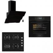 Ferre Black Touch Plus 3lü Ankastre Set (11002...