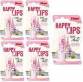 Blistex Happy Lips Paris Lip Balm 3.7 Gr 5li Eko Set
