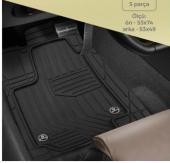 Audi A3 Havuzlu Kauçuk Paspas Takımı