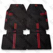 Seat Altea Kırmızı Şeritli Kauçuk Paspas Takımı