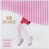 Dore Mikro 50 Kız Çocuk Külotlu Mus Çorap