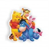Wınnıe The Pooh Bebek Odası Mobilya Kulp