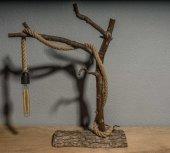 Ağaç Masaüstü Abajur